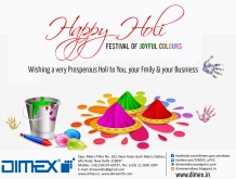 #Dimex_Happy-Holi-Design